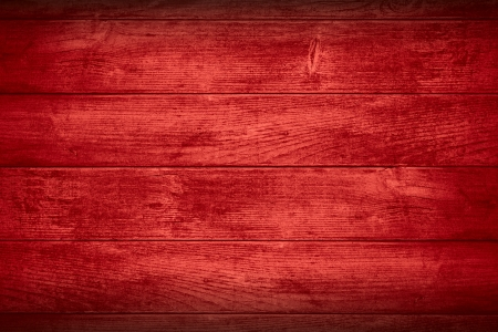 crimson colour: red planks background or wooden boards texture