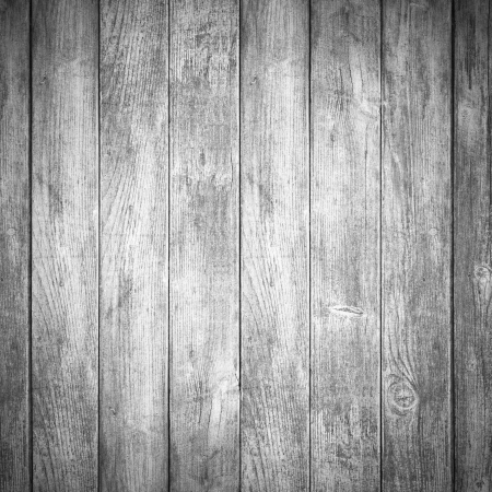 grey wooden background or white planks texture Stock Photo