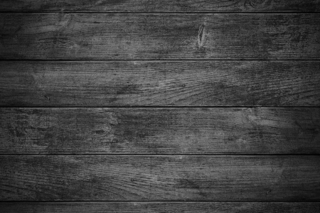 black wooden background or wood grain grey texture