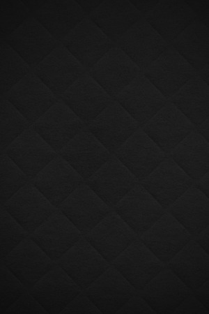 forniture: black paper background or diamond pattern texture Stock Photo