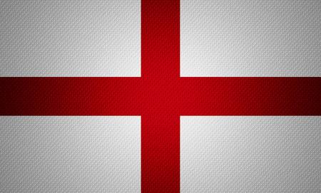 bandera inglaterra: Bandera de Inglaterra o banner Ingl�s en la textura abstracta