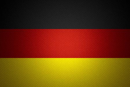 bandera de alemania: Alemania bandera o estandarte alem�n sobre la textura abstracta