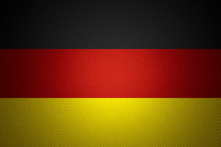 germany flag or german banner on abstract texture stock photo