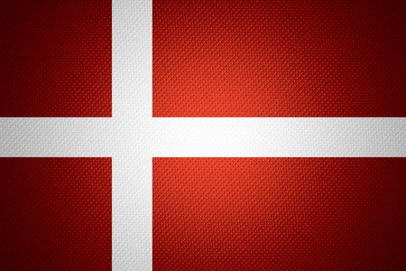 denmark flag: Denmark flag or Danish banner on abstract texture