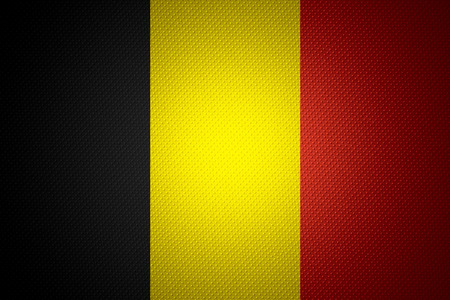 belgium flag: Belgium flag or banner on abstract texture