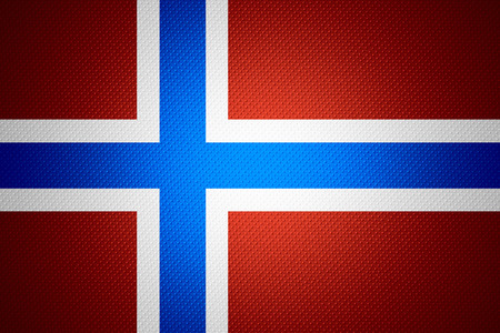norway flag: Norway flag or Norwegian banner on abstract texture