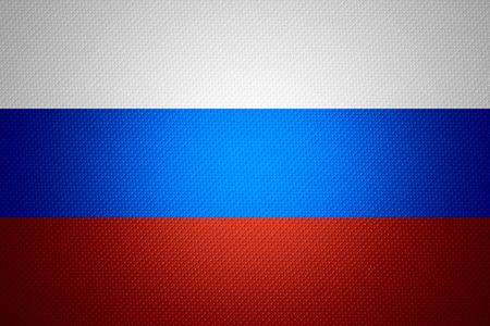 bandera rusia: Bandera de Rusia o la bandera de Rusia sobre la textura abstracta