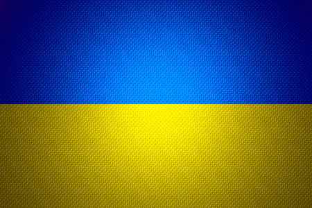Ukraine flag or banner on abstract texture Фото со стока