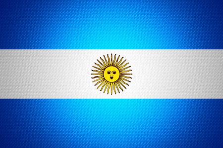 bandera argentina: Bandera de la Argentina o Argentinan banner en textura abstracta