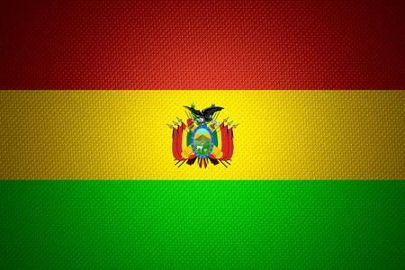 bandera de bolivia: Bolivia bandera o estandarte de Bolivia sobre la textura abstracta