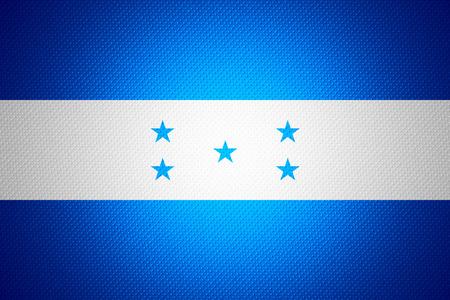 bandera honduras: Bandera de Honduras o banner en textura abstracta