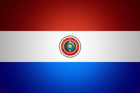bandera de paraguay: Bandera de Paraguay o la bandera paraguaya en la textura abstracta