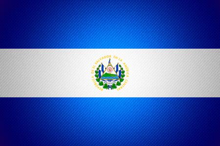 bandera de el salvador: Bandera de El Salvador o banner en textura abstracta