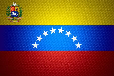 venezuela flag: Bandera de Venezuela o la bandera venezolana en la textura abstracta