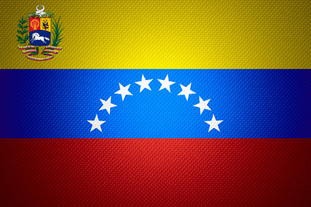 venezuelan: Venezuela flag or Venezuelan banner on abstract texture