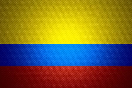 bandera de colombia: Bandera de Colombia o la bandera colombiana en la textura abstracta