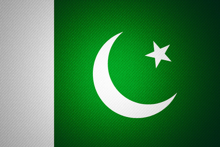 pakistani pakistan: Pakistan flag or Pakistani banner on abstract texture