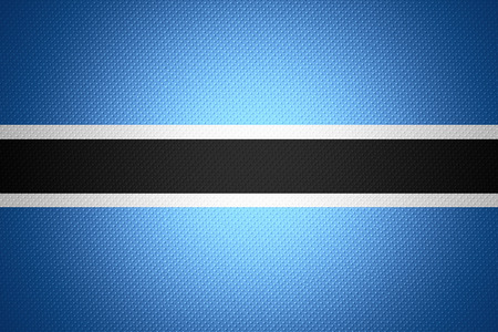 botswanan: Botswana flag or Botswanan banner on abstract texture