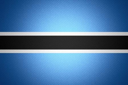 botswanan: Botswana flag or Botswanan banner on abstract texture