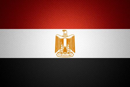 bandera de egipto: Bandera de Egipto o la bandera egipcia en la textura abstracta Foto de archivo