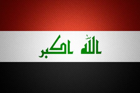 iraqi: Iraq flag or Iraqi banner on abstract texture