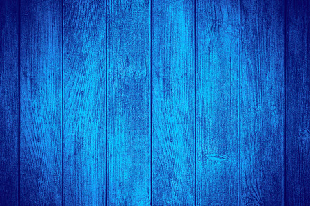 blue wooden background or wood plank texture