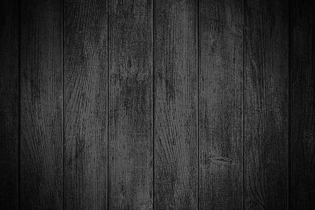 zwarte houten achtergrond of houten plank textuur Stockfoto