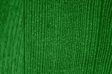 margen: textura de madera de grano o tablón de roble fondo verde con margen Foto de archivo