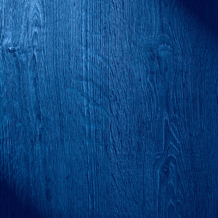 blue wood background or oak furniture texture Stockfoto