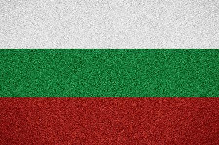 bulgarian: flag of Bulgaria or Bulgarian symbol on abstract background