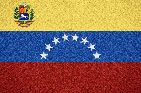 venezuelan: flag of Venezuela or Venezuelan symbol  on abstract background
