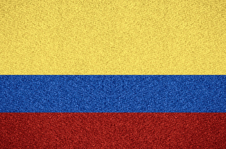colombian: flag of Colombia or Colombian symbol  on abstract background