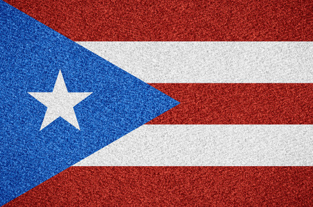 puerto rican: flag of Puerto Rico or Puerto Rican symbol  on abstract background