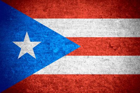 bandera de puerto rico: bandera de Puerto Rico o Puerto Rico bandera en metal viejo textura de fondo