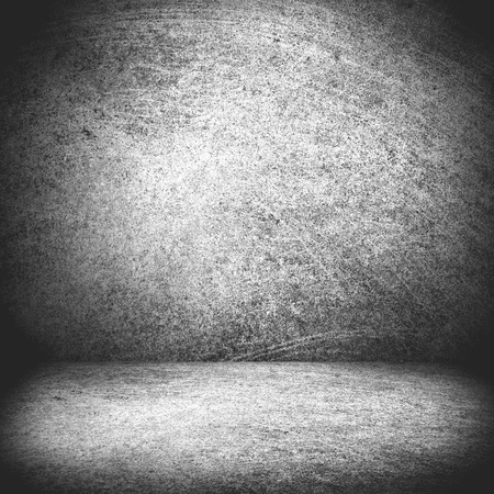 rough background: black and white texture or blank stage space, grey background