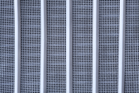 grille: abstract blue background or grid pattern texture, grille