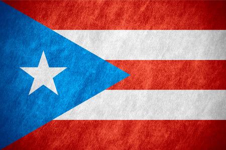 bandera de puerto rico: la bandera de la bandera de Puerto Rico o de Puerto Rico en la textura de la lona