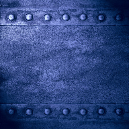 blue steel: blue abstract background or rust steel texture Stock Photo