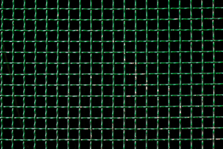 grille': green metal grid background or grille pattren texture