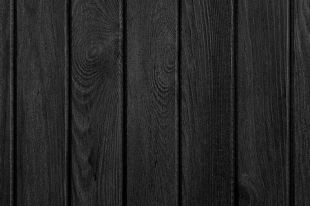 forniture: black wood background or wooden boards texture Stock Photo