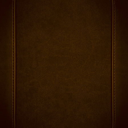 brown leather background or grain pattern texture