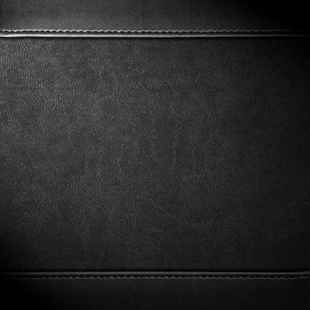 black leather background or grain pattern texture Stock Photo