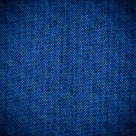 navy blue background: navy blue canvas texture or linen color background Stock Photo