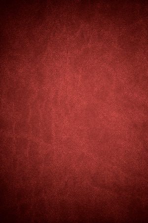 red leather: red leather texture or vintage abstract background Stock Photo