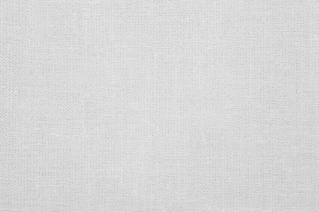 white linen: white linen background or woven canvas texture Stock Photo