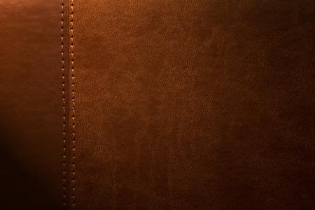 margen: textura de cuero marr�n con cierre que hay en el margen