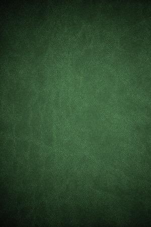 texture de cuir vert ou vintage fond abstrait