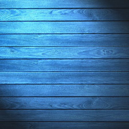blue wooden rustic background or wood grain texture
