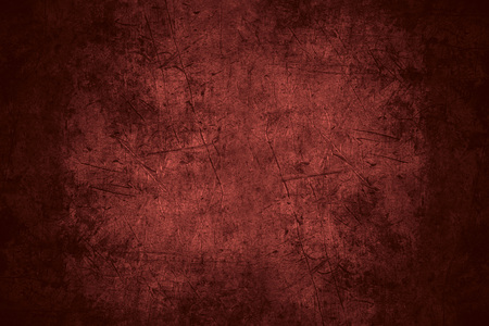 red scratched metal texture or rough pattern iron background