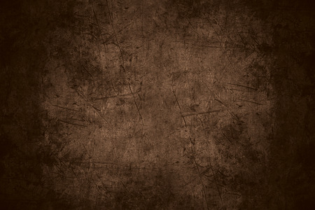 textura de metal rayado marrón o áspera del fondo del modelo del hierro